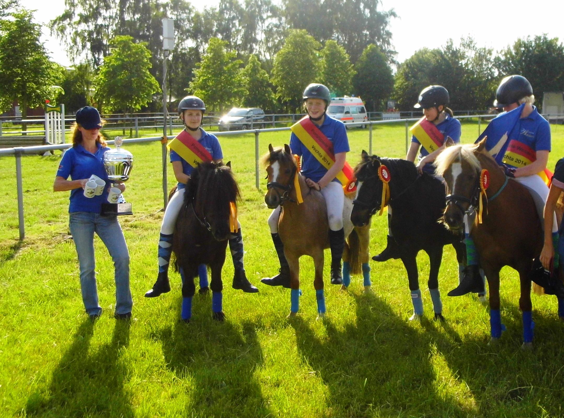 Ponyspielehrung Team I I