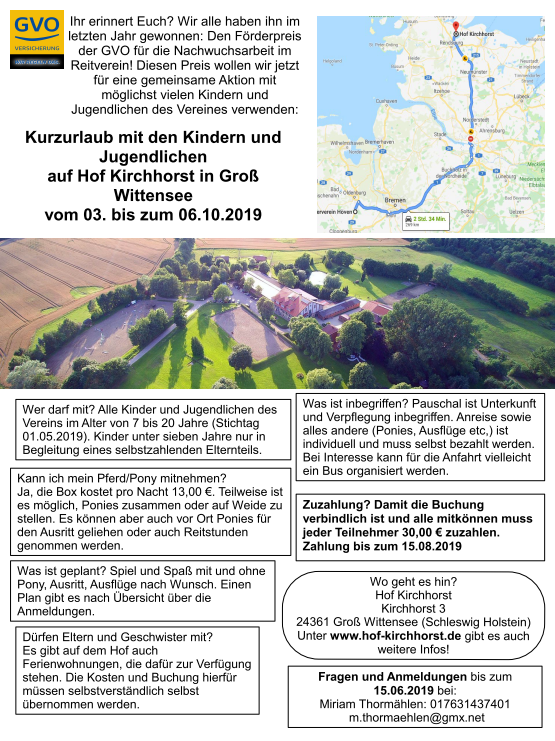 d1abeed94b Ausflug der Vereinsjugend nach Groß Wittensee - Reiterverein-Hoeven e.V.
